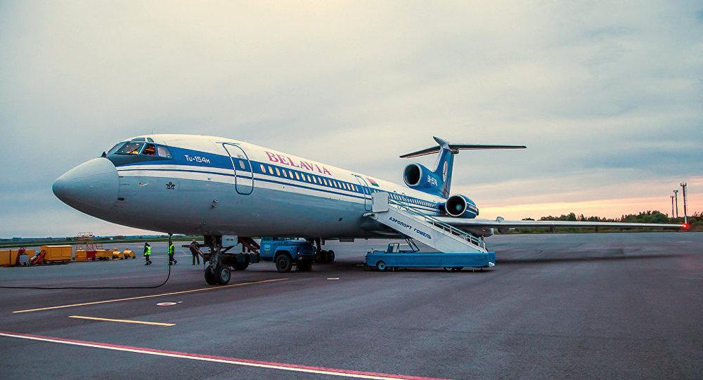 Полет ради полета: легендарный Ту-154М приземлится в Гомеле