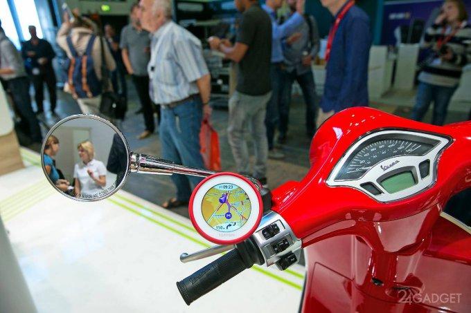TomTom VIO — навигатор для скутеров и мопедов