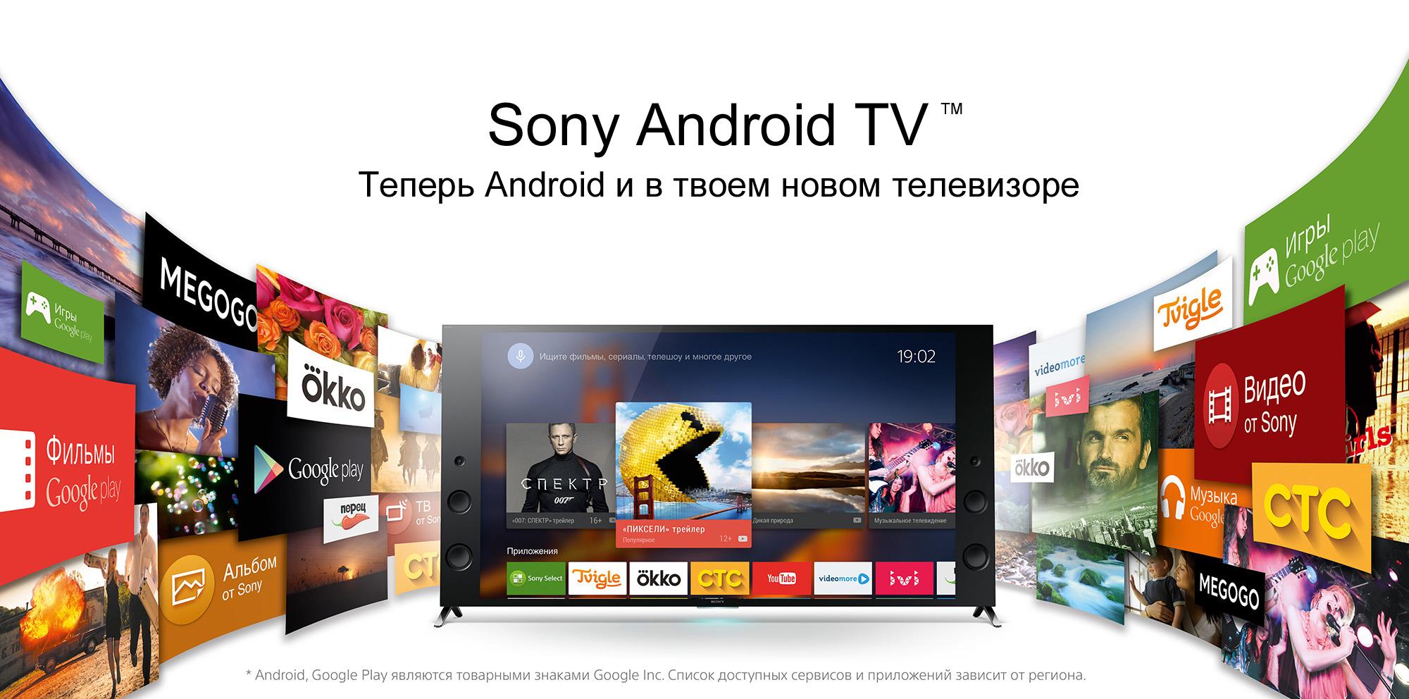 Про Android TV и телевизор Sony