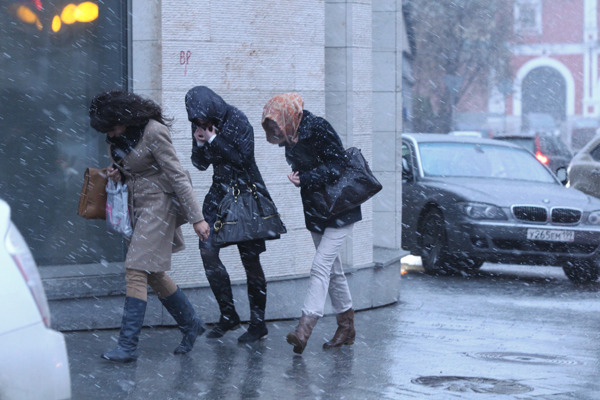 25 октября в Беларуси объявлен оранжевый уровень опасности