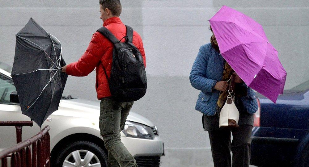 Циклон принес в Беларусь 7 ноября усиление осадков и ветра