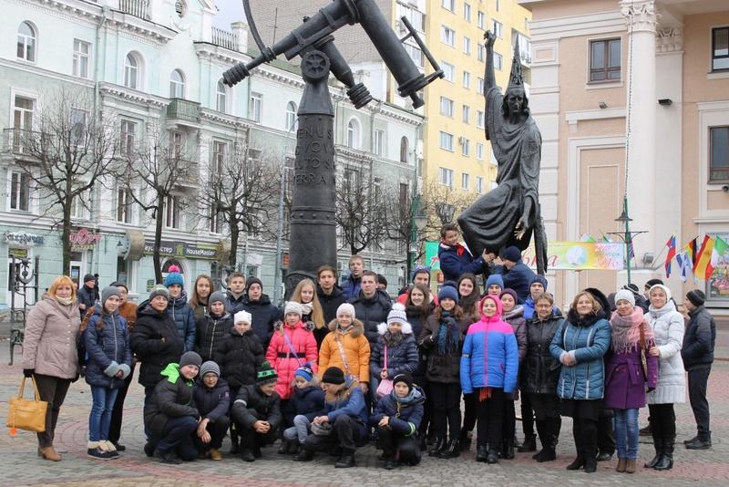 С экскурсией в Могилев