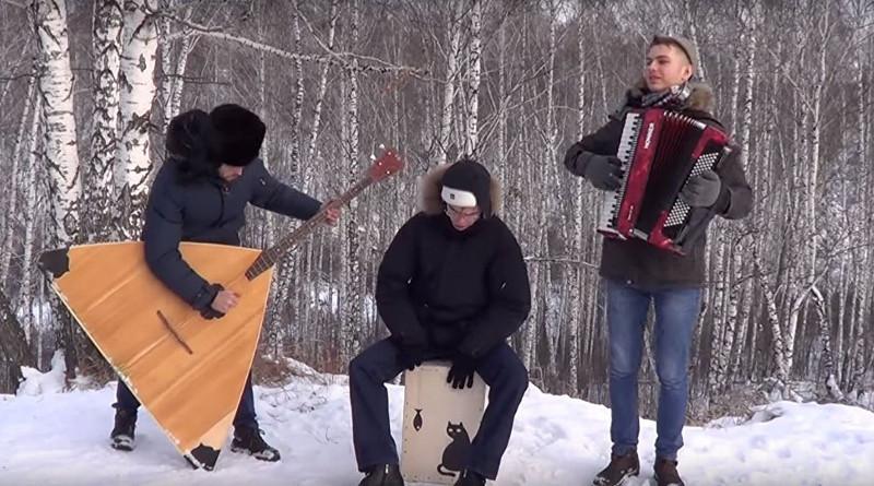 Музыканты из Сибири сыграли хит Despacito на аккордеоне и балалайке
