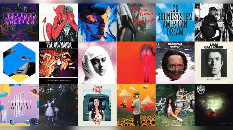 Названы 50 лучших музыкальных альбомов года по версии NME