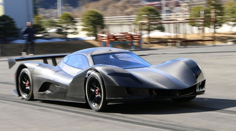 Японский электрокар разогнался до скорости 100 км/ч за 1,9 секунды