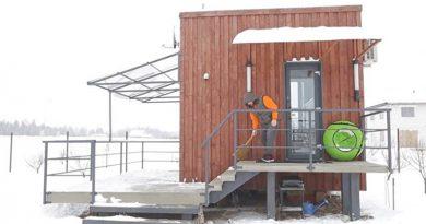 Белорус решил проблему сжильем, построив дом за две тысячи долларов