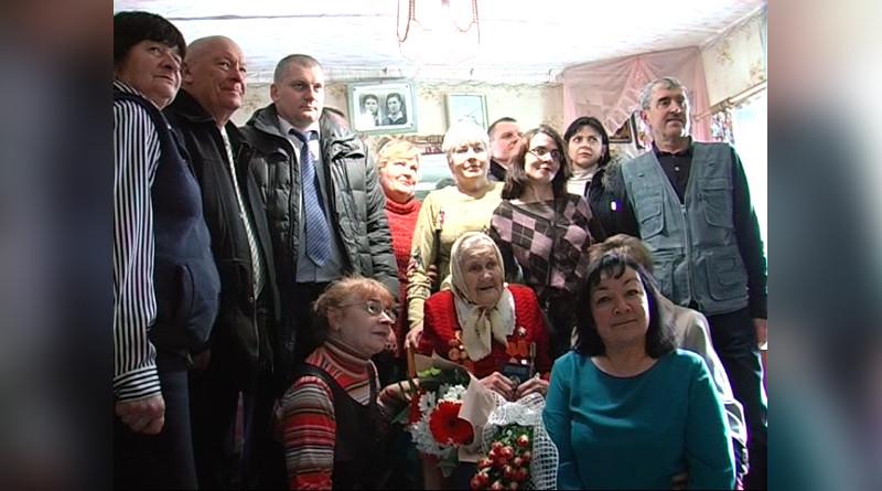 Одной из старейших жительниц Речицкого района исполнилось сто лет