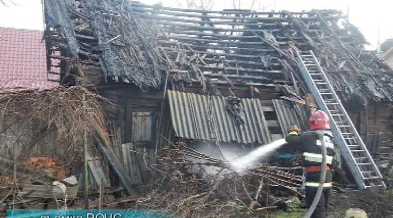 На прошедшей неделе предположительно из-за неосторожного обращения согнем на территории города ирайона произошло три пожара