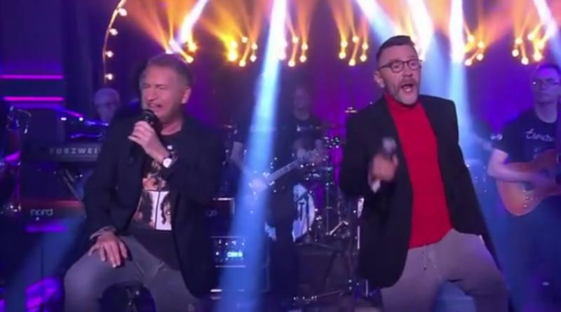 Шнуров иАгутин представили совместную песню «Какая-то фигня»