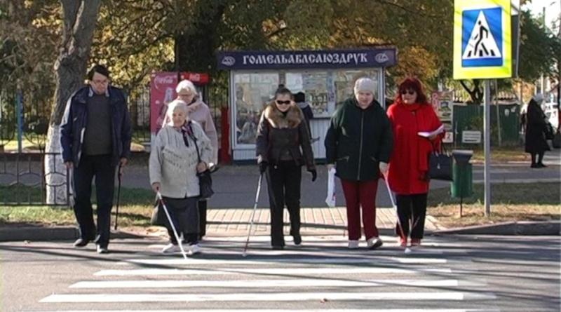 В Беларуси стартовал месячник под названием «Человек сбелой тростью»