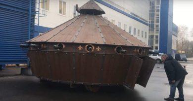 «Беларусьфильм» создал танк по эскизам да Винчи для нового фильма