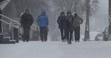 Оранжевый уровень опасности объявлен вБеларуси из-за снегопада