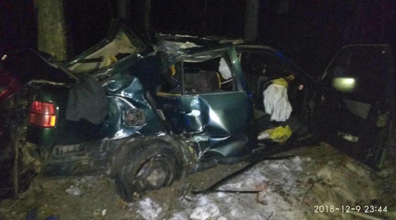 В Речицком районе вДТП погиб водитель