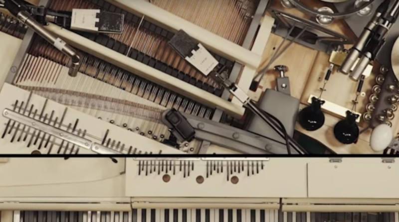 Украинская рок-группа превратила сломанный рояль вмини-оркестр