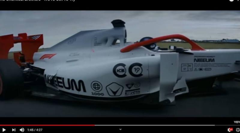 Вот таким будет новый саундтрек «Формулы-1» — видео