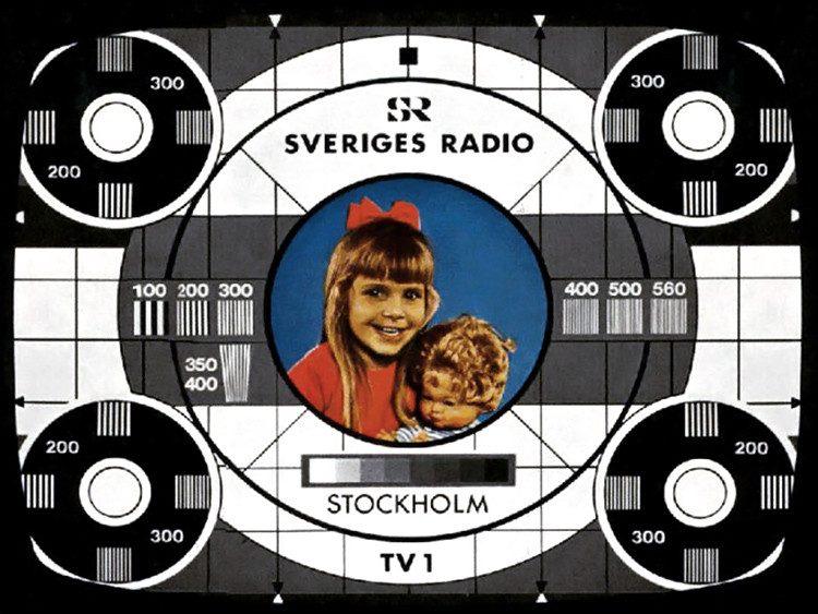 ТВ Швеция TV1, цветная