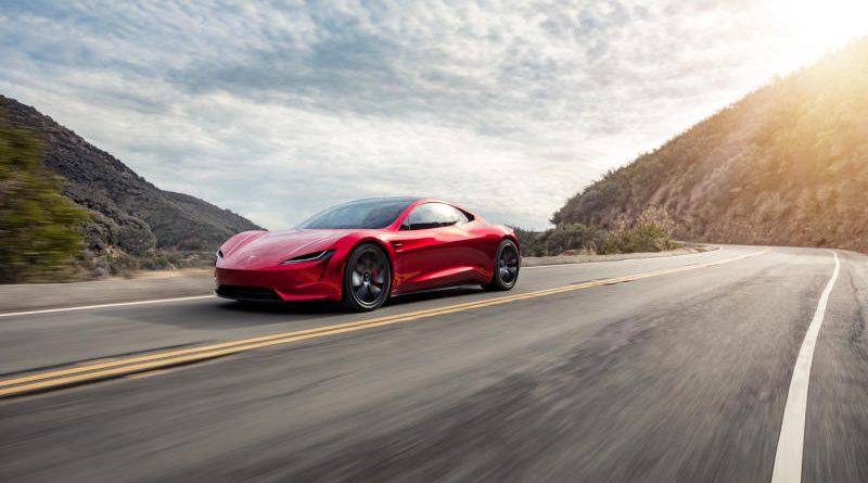 Сверхбыстрый разгон нового Tesla Roadster показали на видео