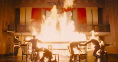 ДиКаприо сжигает нацистов из огнемета вновом трейлере «Однажды в… Голливуде»