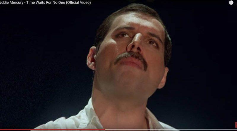 Появилось видео сранее не изданной песней Фредди Меркьюри