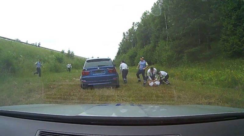 Огромная скорость итаран: как водитель пытался скрыться от ГАИ на чужом BMW
