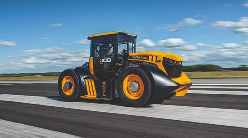 1014-сильный трактор установил рекорд скорости