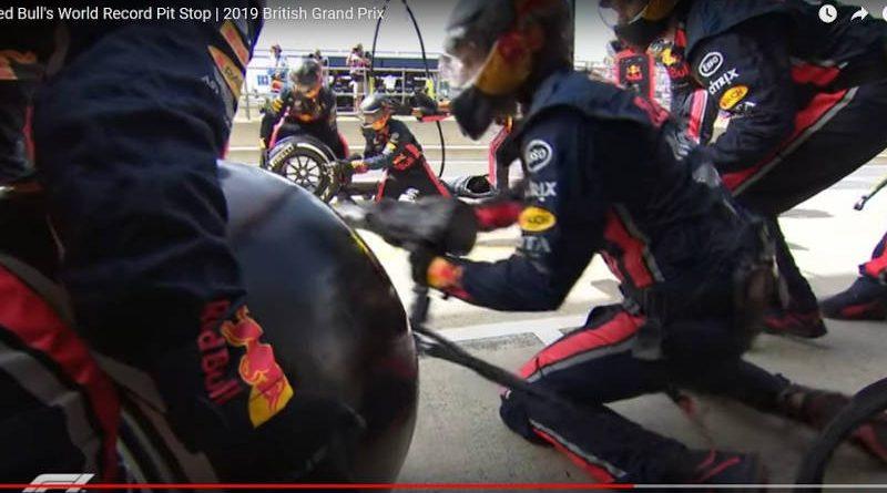 Шиномонтажу ине снилось: рекордный пит-стоп провели в «Формуле-1» — видео
