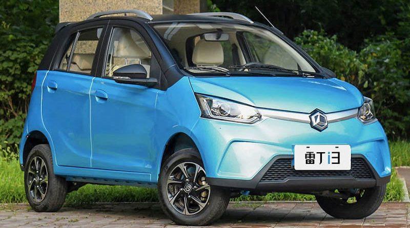 Китайцы построили бюджетные электромобили. Цены — от $7 тысяч