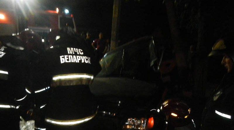 ДТП вРечице: понадобилась помощь спасателей вдеблокировке водителя