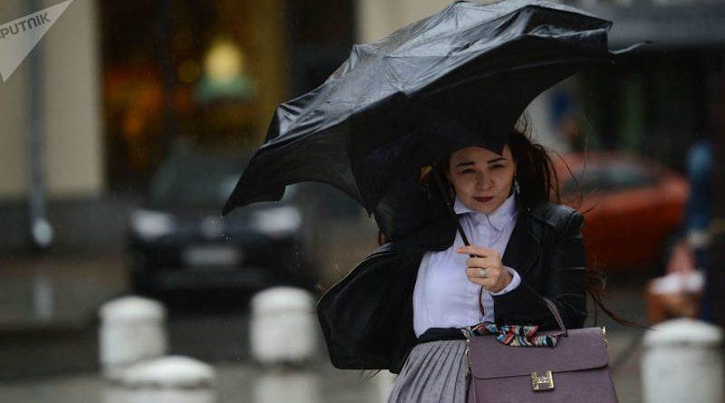Погода на понедельник: берегитесь сильного ветра