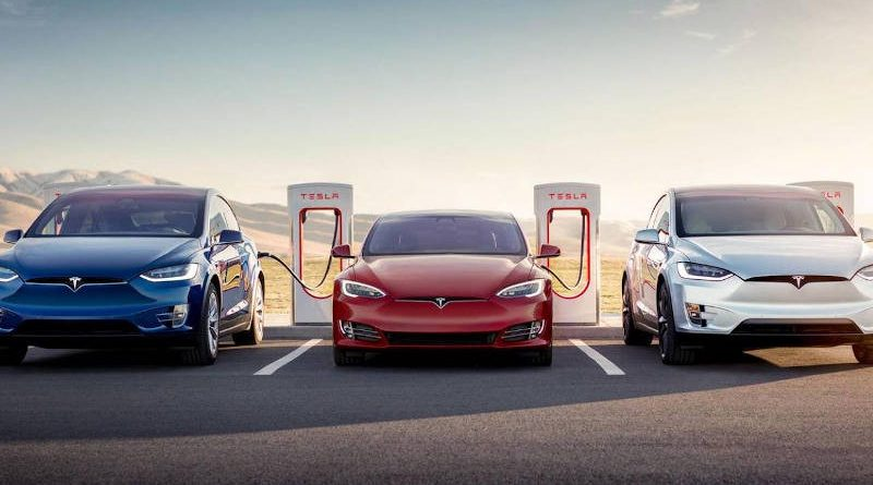 Tesla вошла втоп-3 самых дорогих автопроизводителей