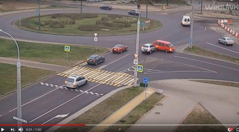 Все равно проскочу: нелепая авария вБресте попала на видео